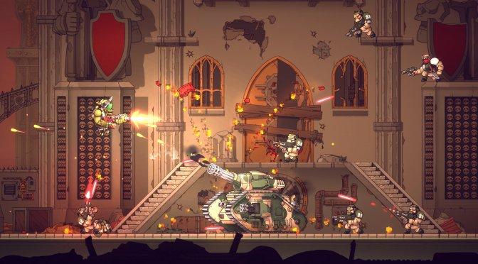 Warhammer 40K Shootas, Blood & Teef is a new 2D run & gun platformer