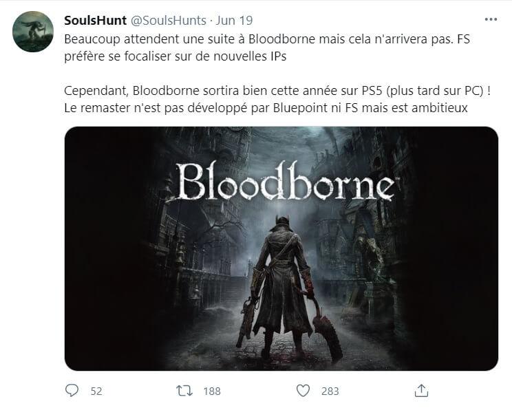 new bloodborne remaster rumor
