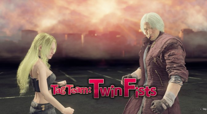 This mod brings the cast of the Devil May Cry series to Yakuza: Like a Dragon