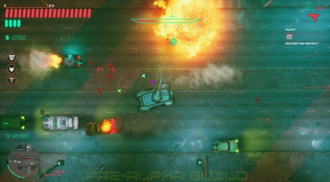 Glitchpunk is a GTA 2-inspired game, coming to Steam Early Access on August 11th