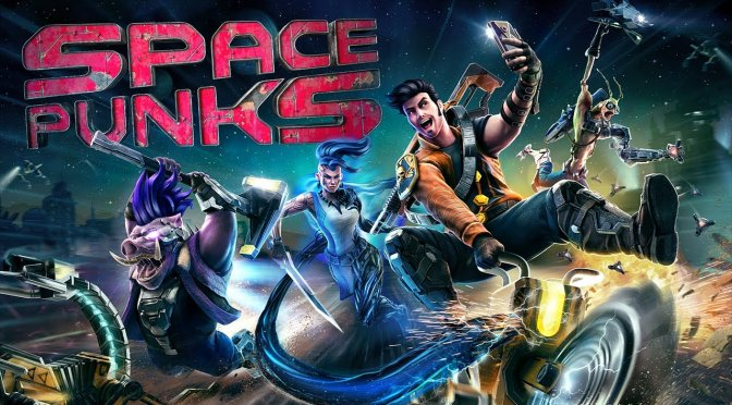 Space Punks is a top-down looter shooter from the developers of Shadow Warrior