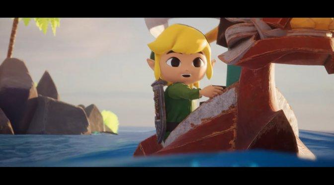 The Legend of Zelda Wind Waker looks amazing in Unreal Engine