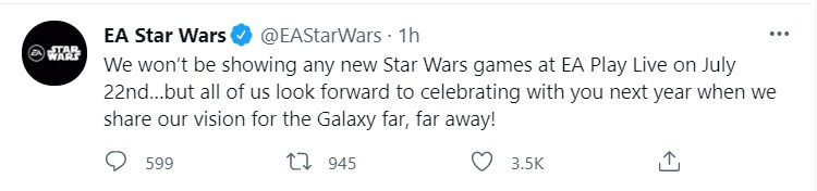 no star wars ea play 2021