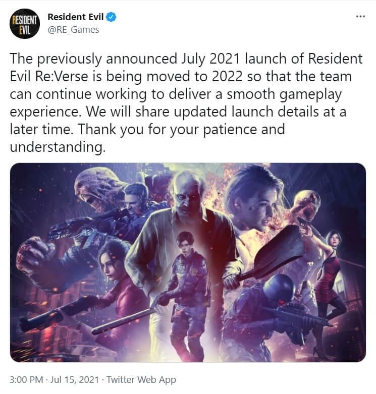 resident evil reverse delay
