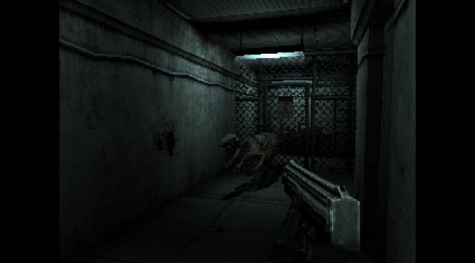 """Compound Fracture is a retro first-person """"Dino Crisis"""" game"""