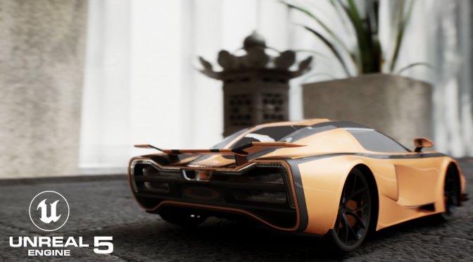 Nano Racing Unreal Engine 5 feature