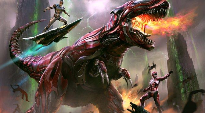 Power Rangers concept art