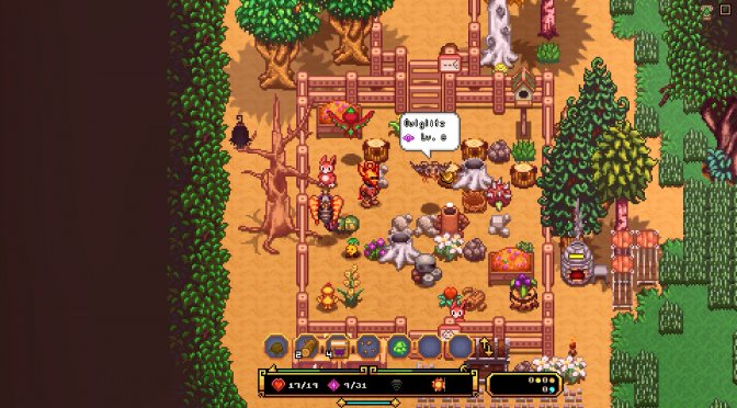 2D isometric open-world RPG, Serin Fate, will fully release on August 25th