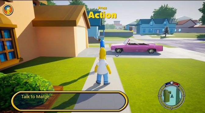 The Simpsons: Hit and Run Remake in Unreal Engine 5 looks incredible