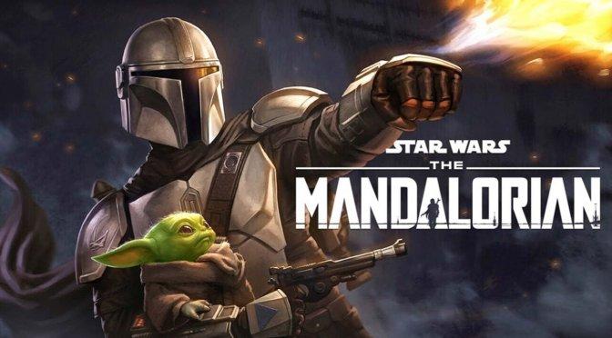 Star Wars The Mandalorian fan
