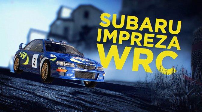 WRC 10 Subaru Impreza