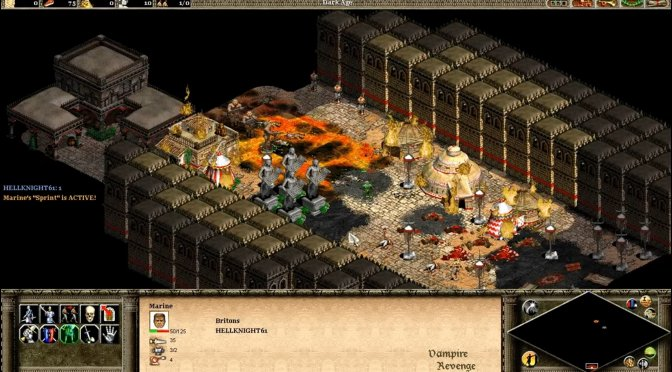 This amazing mod for Age of Empires 2 lets you experience Doom as a strategy game