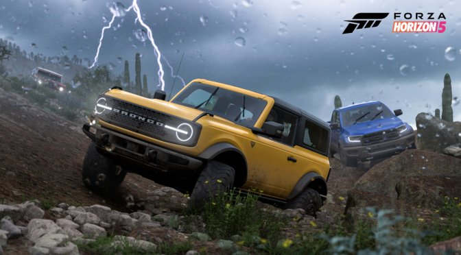 New Forza Horizon 5 gameplay video shows Storm Expedition & 2 new races