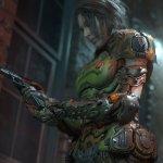 Jill Valentine Doom Slayer suit mod-1