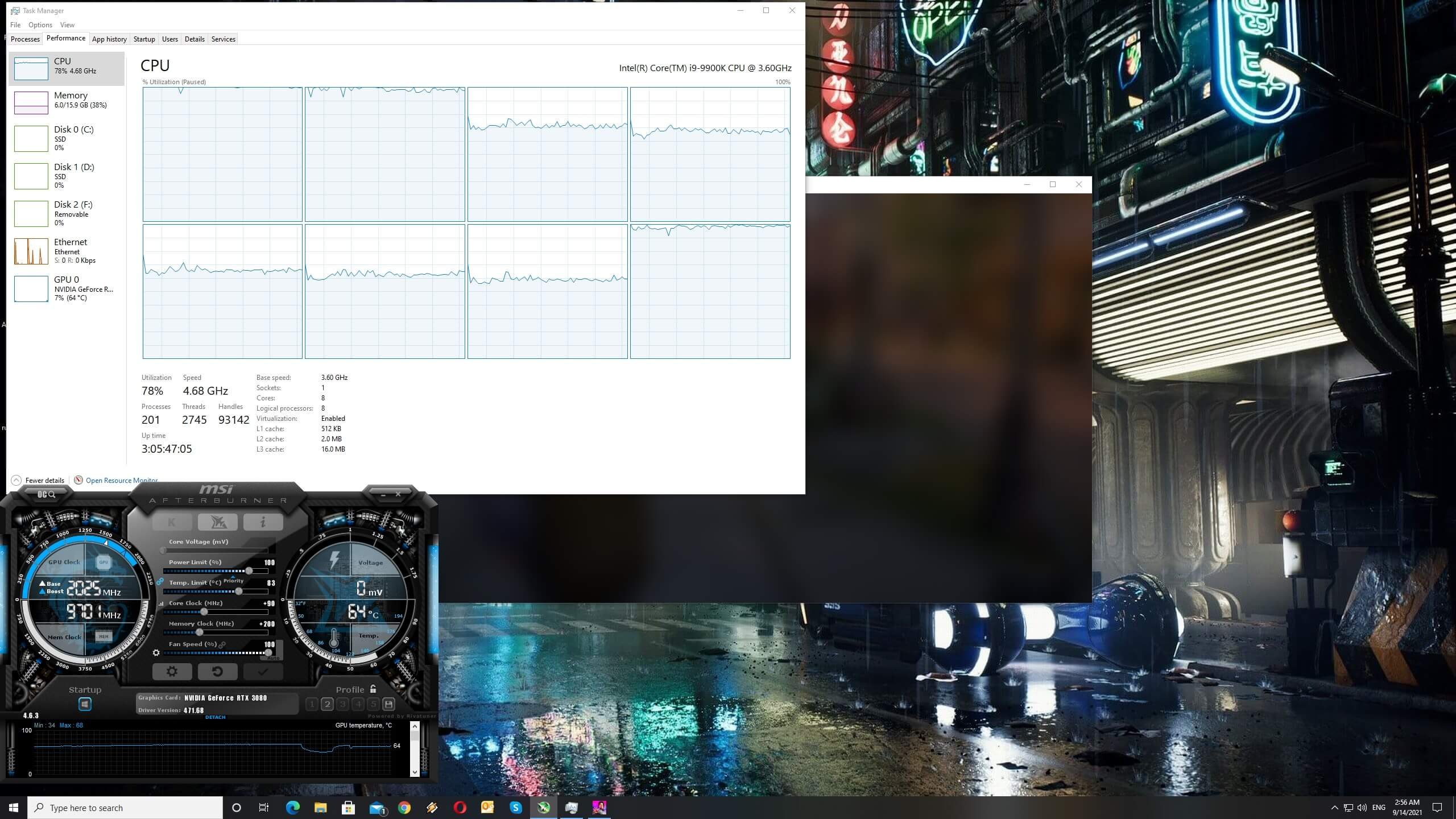 Life is Strange True Colors CPU scaling