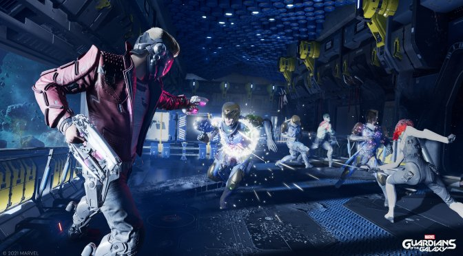 New Marvel's Guardians of the Galaxy trailers highlight its combat and exploration systems