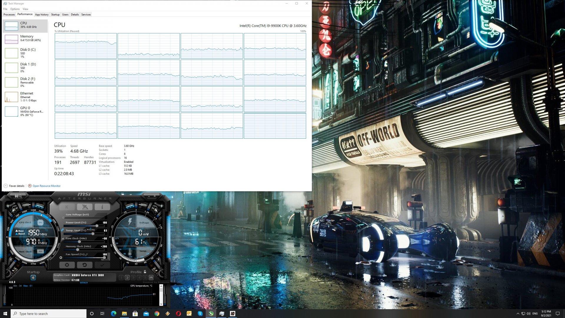 WRC 10 CPU scaling
