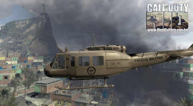 Call of Duty Rio Mod for COD4: Modern Warfare is available for download
