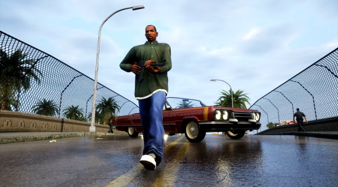GTA Trilogy The Definitive Edition comparison videos showcase amazing graphical improvements