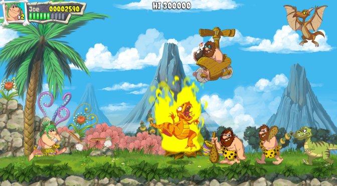 Microids has announced Joe & Mac: Caveman Ninja Remake, coming to PC in 2022