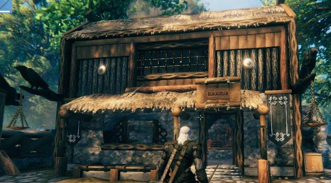 This mod adds The Witcher 3's Geralt, Ciri, Triss & Yennefer to Valheim