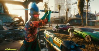 Cyberpunk 2077 first-person screenshots-3