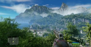 Crysis Remastered first PC screenshot