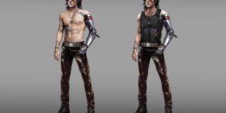 Cyberpunk 2077 Johnny Silverhand concept art-1