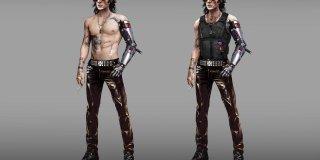 Cyberpunk 2077 Johnny Silverhand concept art-1