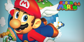 Super Mario 64 header screenshot